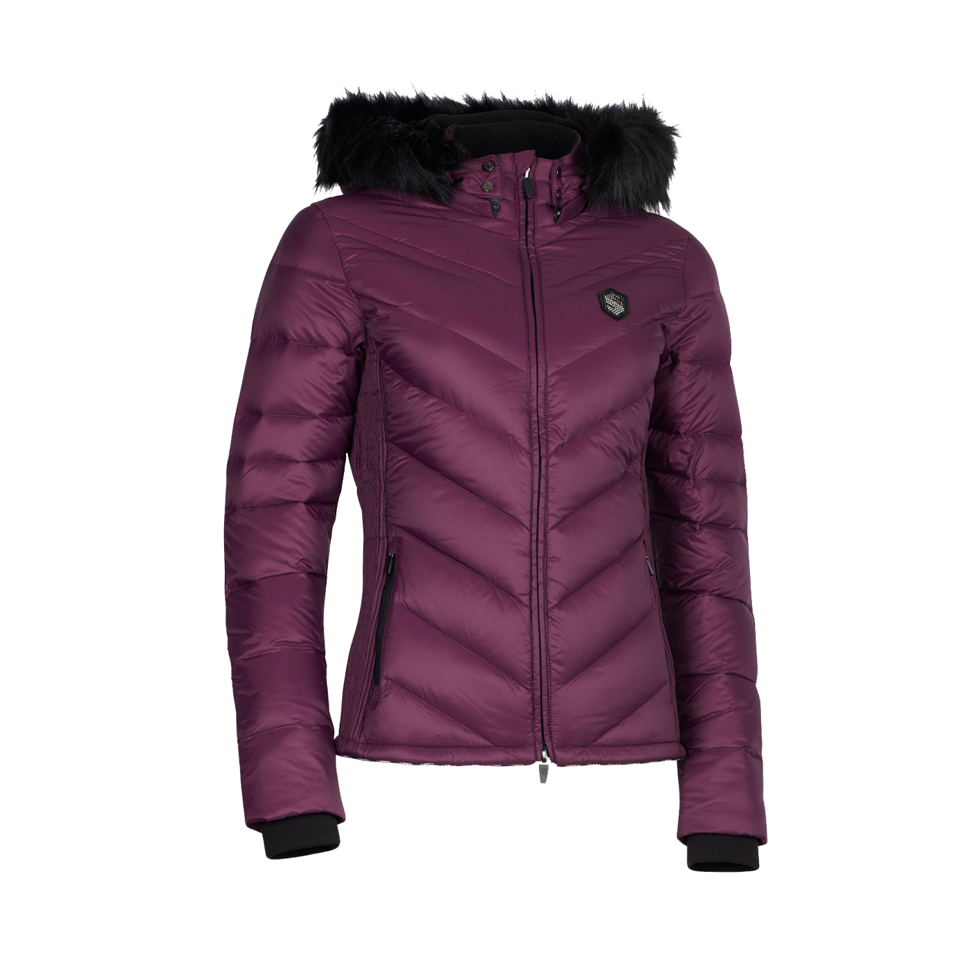 Samshield Courchevel Down Plum Ladies Equestrian Jacket