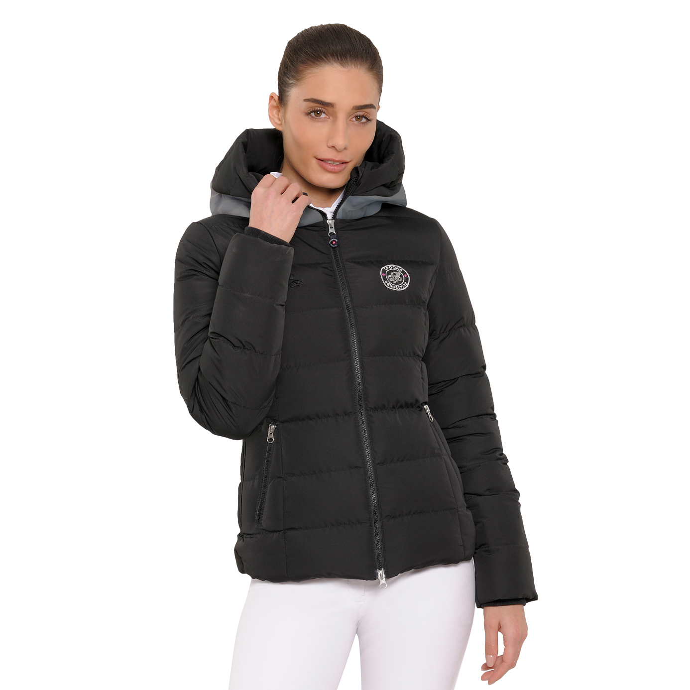 Spooks Black Debbie Ladies Equestrian Jacket
