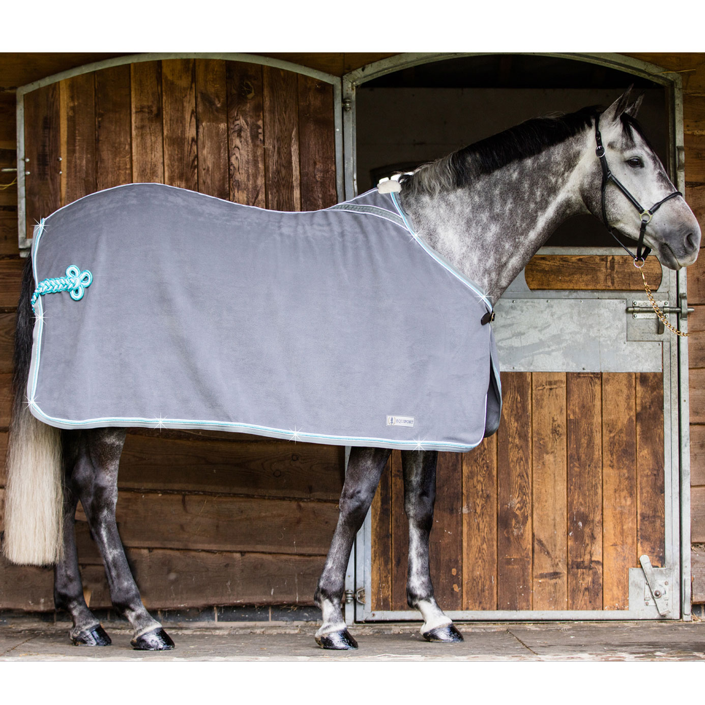 Equiport Diamante Fleece Show Rug