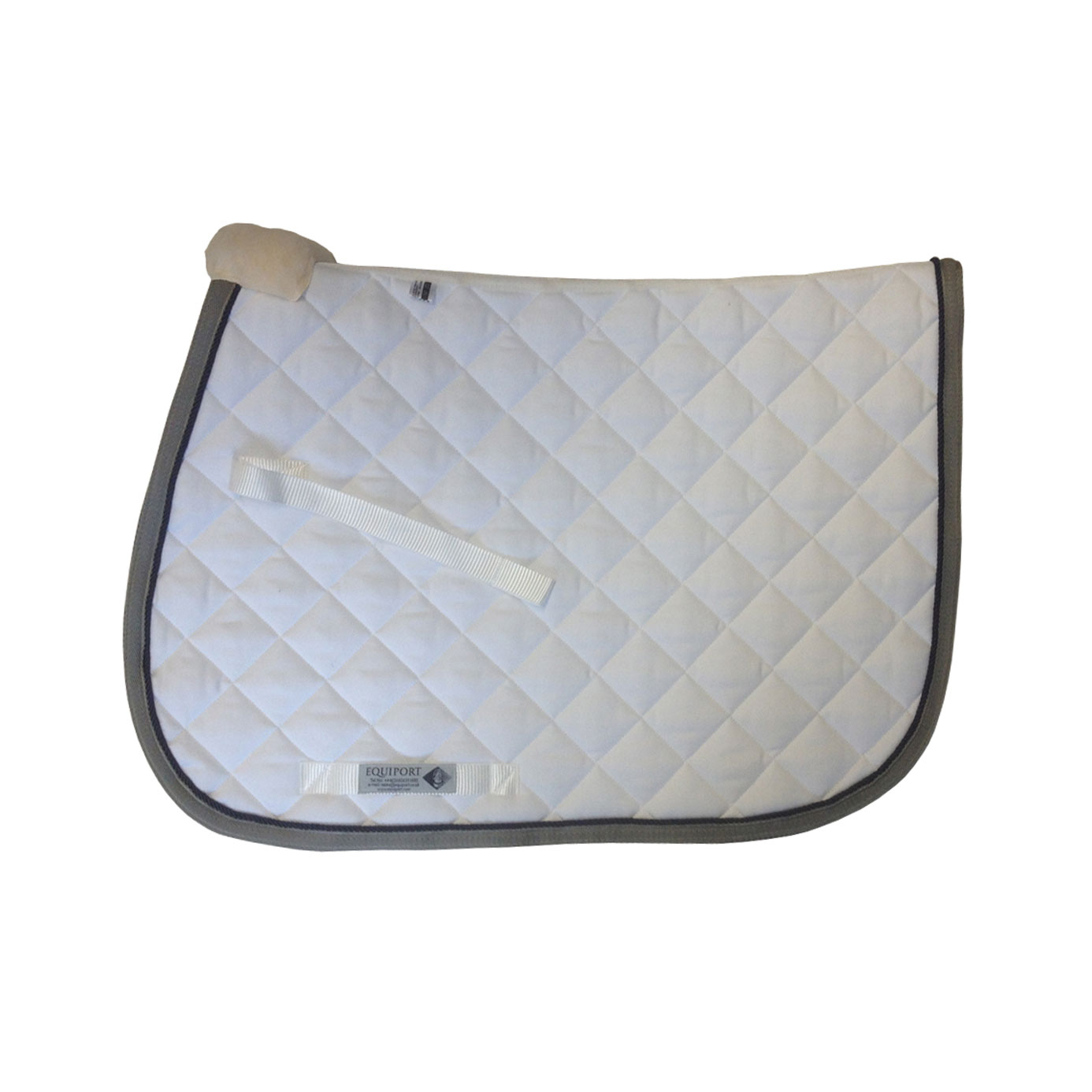 Equiport Bespoke Wide Quilt Jumping Saddle Cloth