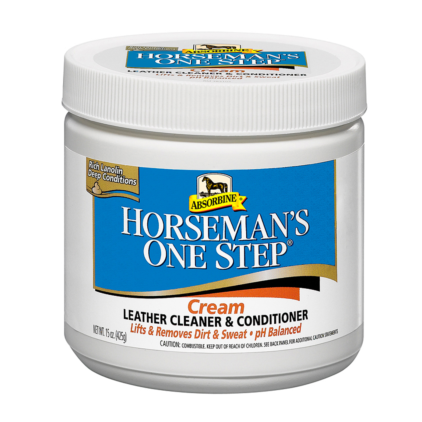 Absorbine Horseman's One Step Leather Cleaner 425g