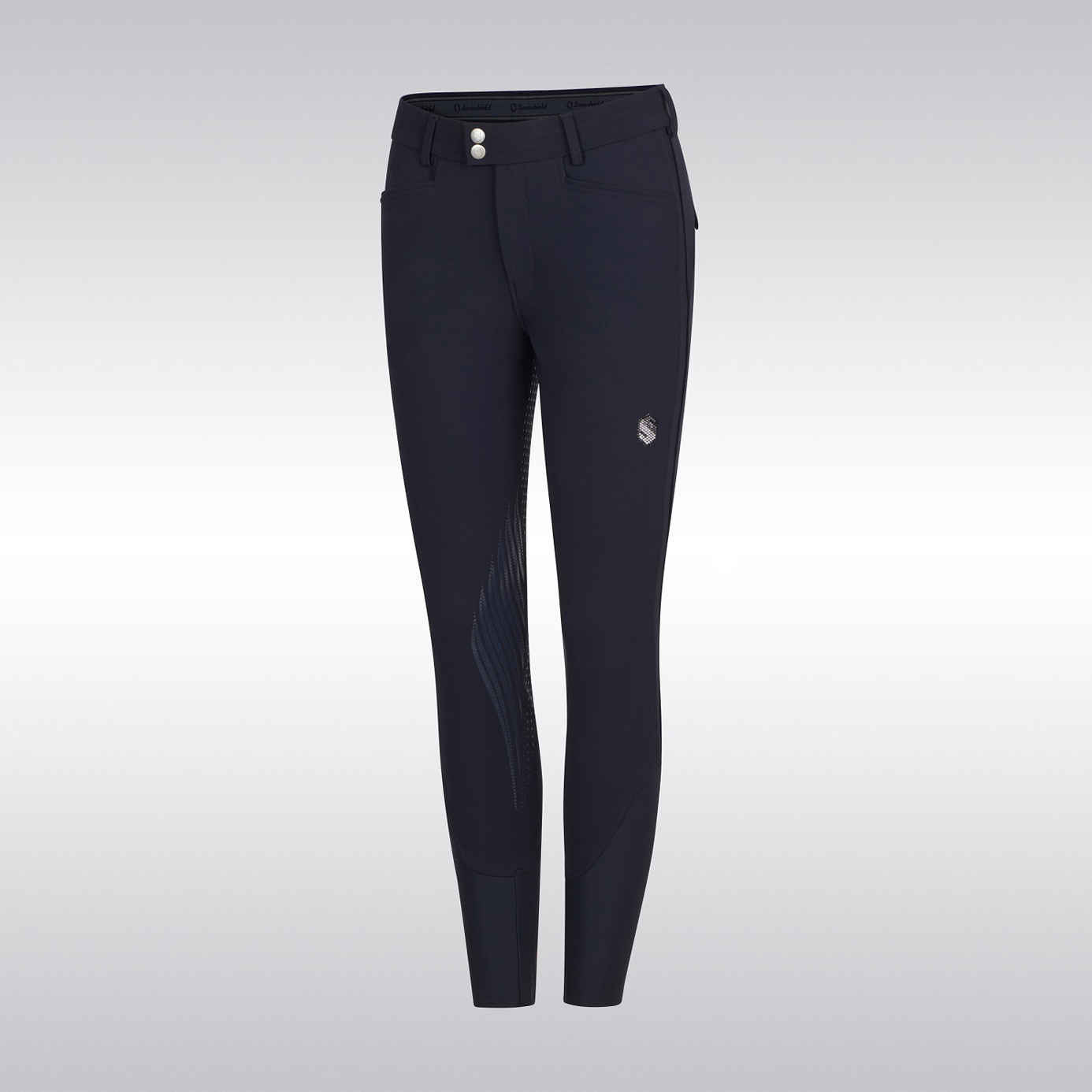 Samshield Astrid Full Grip Navy Ladies Breeches