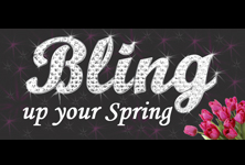 Bling Up Your Spring