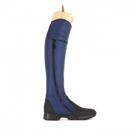 Alberto Fasciani Blue Riding Boots