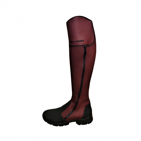 Alberto Fasciani Burgundy Riding Boots