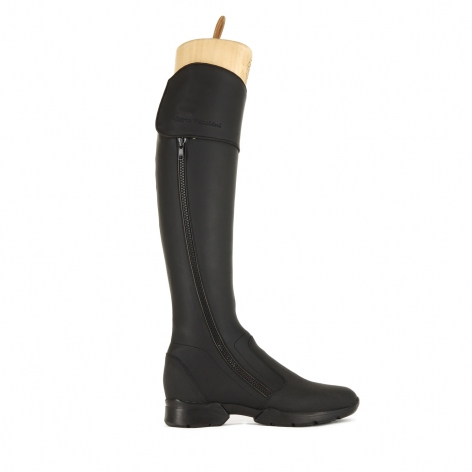 Alberto Fasciani Black Riding Boots