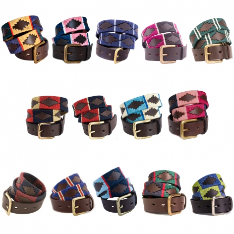 Pioneros Pampa Polo Belt