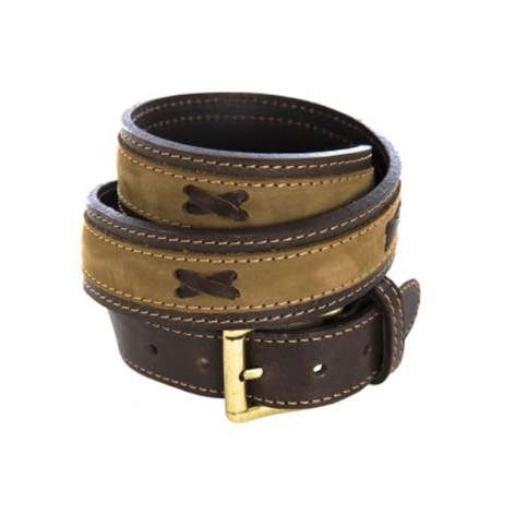 Pioneros Brown Nubuck Belt