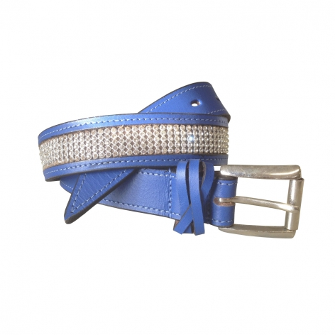 Equiport Royal Blue Crystal Belt