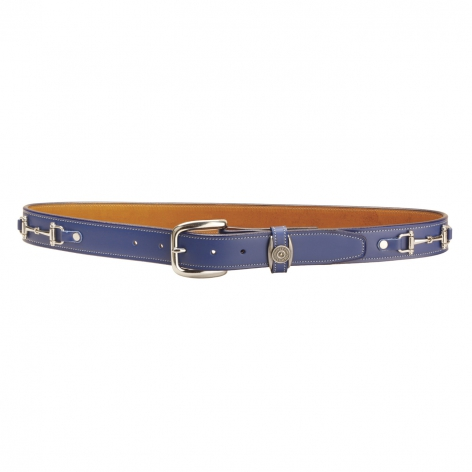 Royal Blue Snaffle Belt