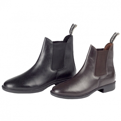 JB Leather Jodhpur Boots Image 1