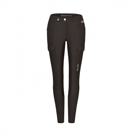 Casca Grip Breeches - Graphite