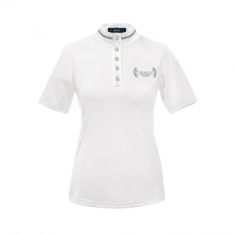 White Cavallo Show Shirt