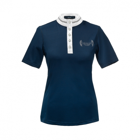 Navy Cavallo Show Shirt