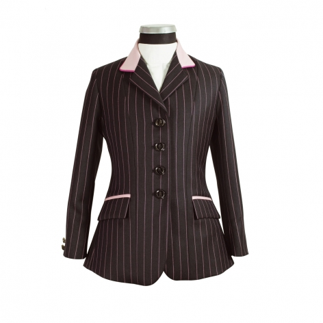 Child's Navy Wide Stripe Show Jacket