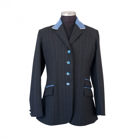 Child's Grey and Sapphire Show Jacket Image 1