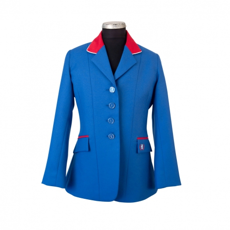 Child's Royal Blue Show Jacket Image 1