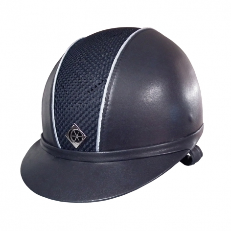 Leather Look Riding Hat