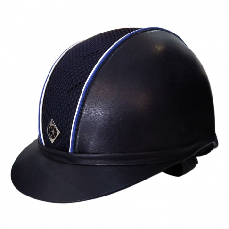 Charles Owen Navy Riding Hat