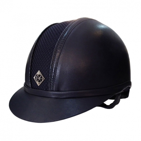 Navy Snake Riding Hat