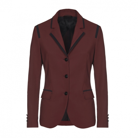 Burgundy Show Jacket