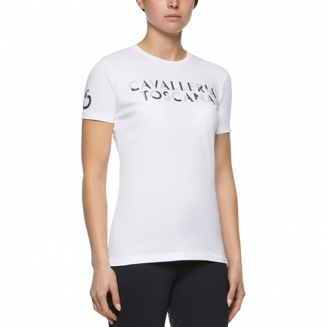 Cavalleria Toscana White T-Shirt