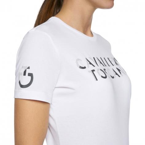 Embossed Logo T-Shirt - White Image 3
