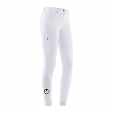 New Grip System Breeches - White Image 3