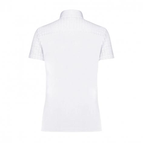 Crochet Show Shirt - White Image 3