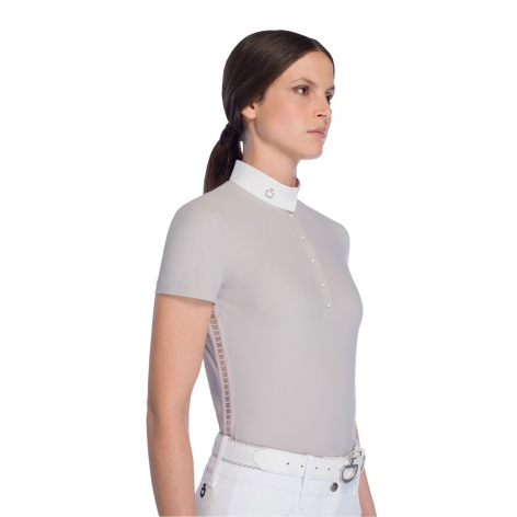 Sheer Side Show Shirt - Light Grey Image 4