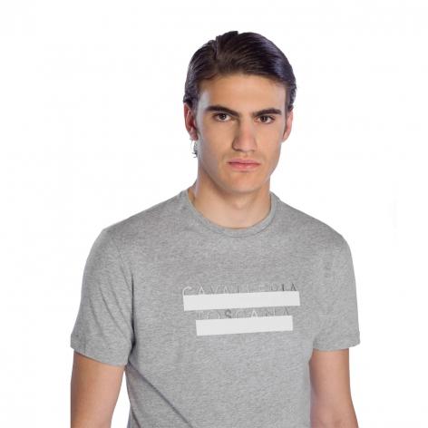 Men's Logo T-Shirt - Grey Image 3