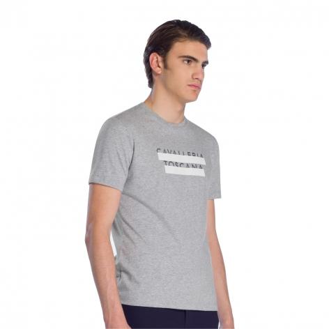 Men's Logo T-Shirt - Grey Image 4
