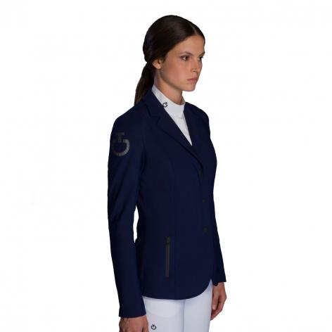 Tech Knit Zip Show Jacket - Blue Image 4