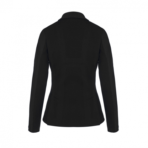 Tech Knit Zip Show Jacket - Black Image 3
