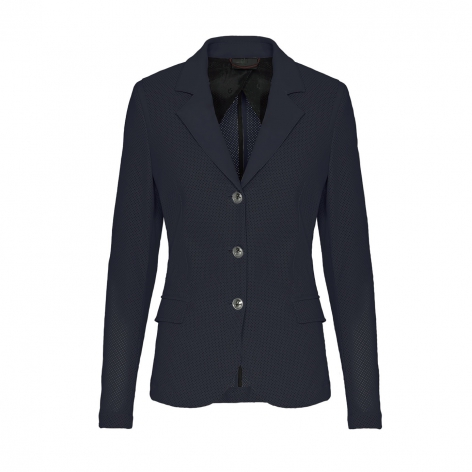Navy Perforated Show Jacket