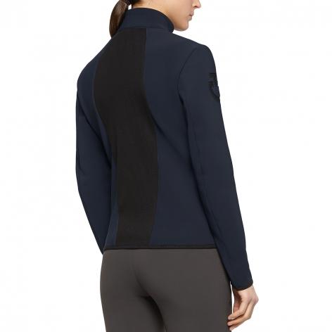 Jersey Fleece Softshell Jacket - Navy Image 3
