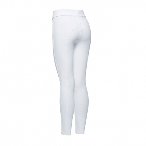 Young Rider Hi-Rise Jersey Leggings - White Image 4