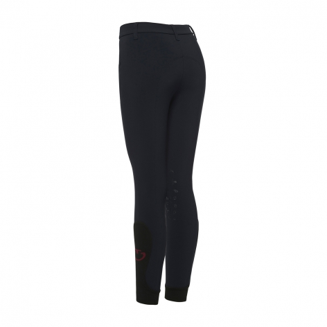 Young Rider Horse & Helmet Breeches - Navy Image 3