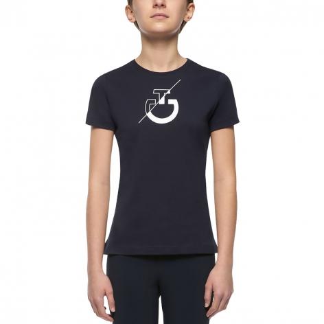 Navy Cavalleria Toscana T-Shirt