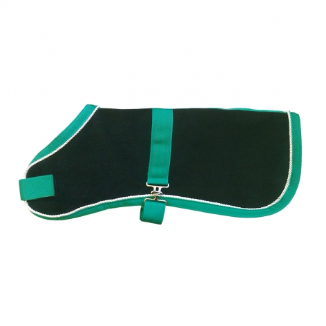 Fleece Dog Coat Image 1