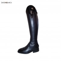 De Niro Riding Boots - Patent American Top Riding Boots S36A2