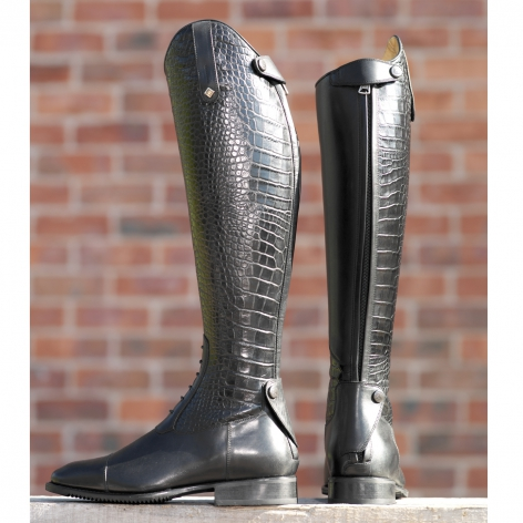 Crocodile Riding Boots
