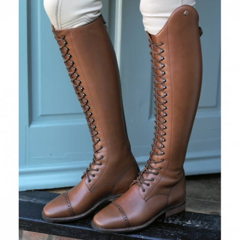 De Niro Laced Riding Boots