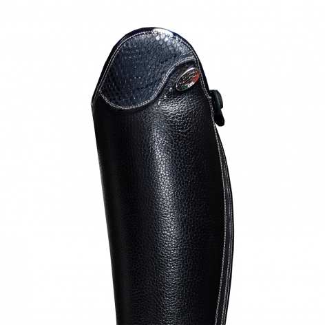 Salentino Riding Boots with Regal Blue Top Image 3