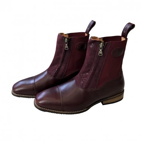 Burgundy De Niro Boots