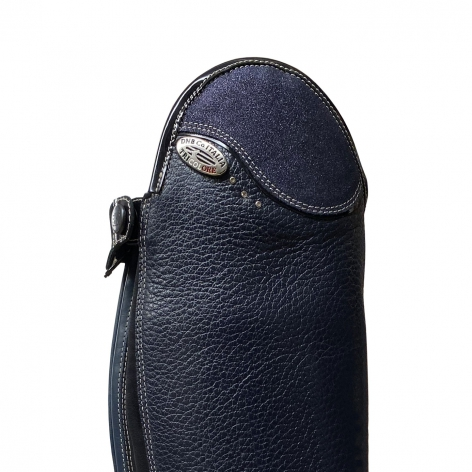 Salentino Riding Boots with Navy Glitter Top Image 3
