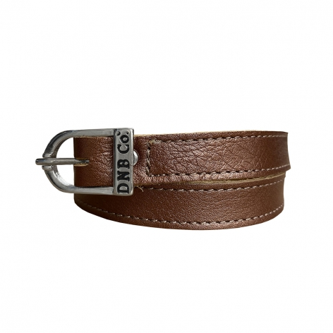 Bronze Leather Spur Straps