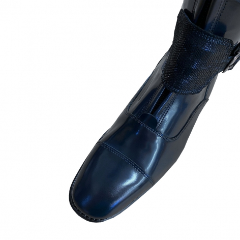 Brushed Blue Polo Boots with 2 Incanto Blue Straps Image 4