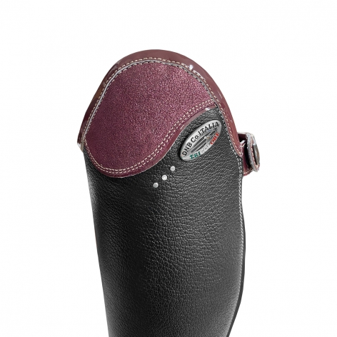 Salentino Riding Boots with Glitter Prugna Top Image 3