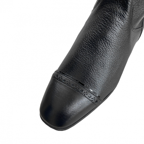 Giulietta Riding Boots with Crystals and Black Patent Trim Image 4
